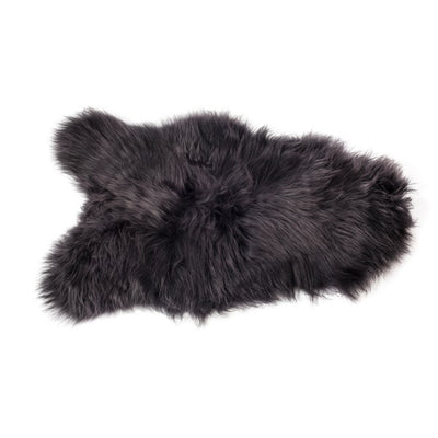 Sheepskin Icelandic - Longhaired in Graphite