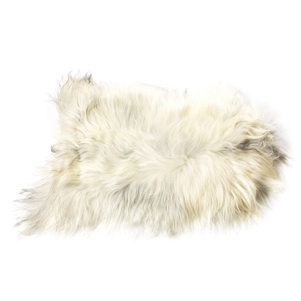 Sheepskin Icelandic - Longhaired in Natural Grey