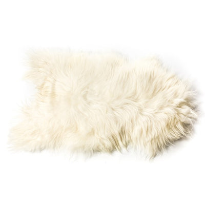 Sheepskin Icelandic - Longhaired in White