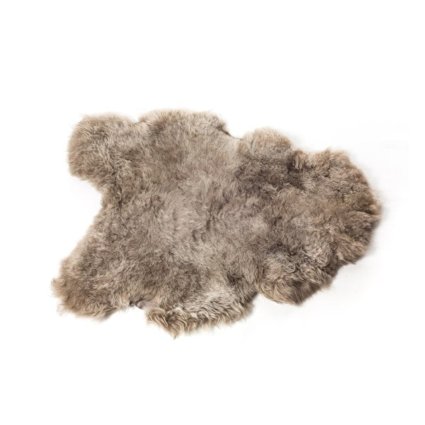 Sheepskin Icelandic - Shorthaired in Taupe