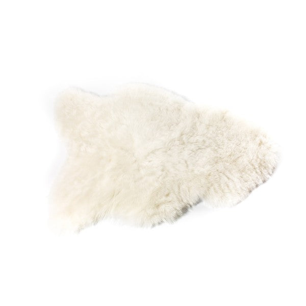 Sheepskin Icelandic - Shorthaired in White - Blabar