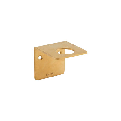 Wall Bracket, Supply in Brushed Brass - Blabar
