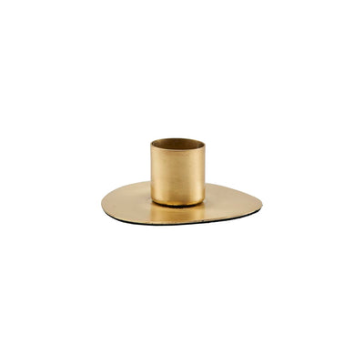 Candle Stand, Circle Brass set of 2 - Blabar