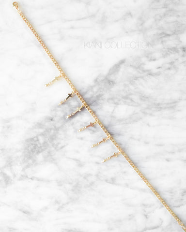CROSS PENDANTS CHOKER
