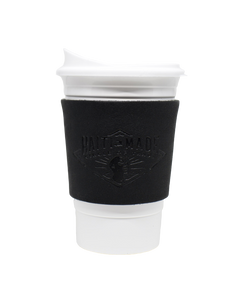 Kan Cup Holder with Plastic Cup and Lid