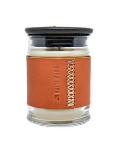 Bouji Candle & Leather Sleeve