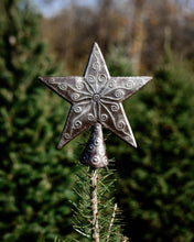 Embossed Star Tree Topper