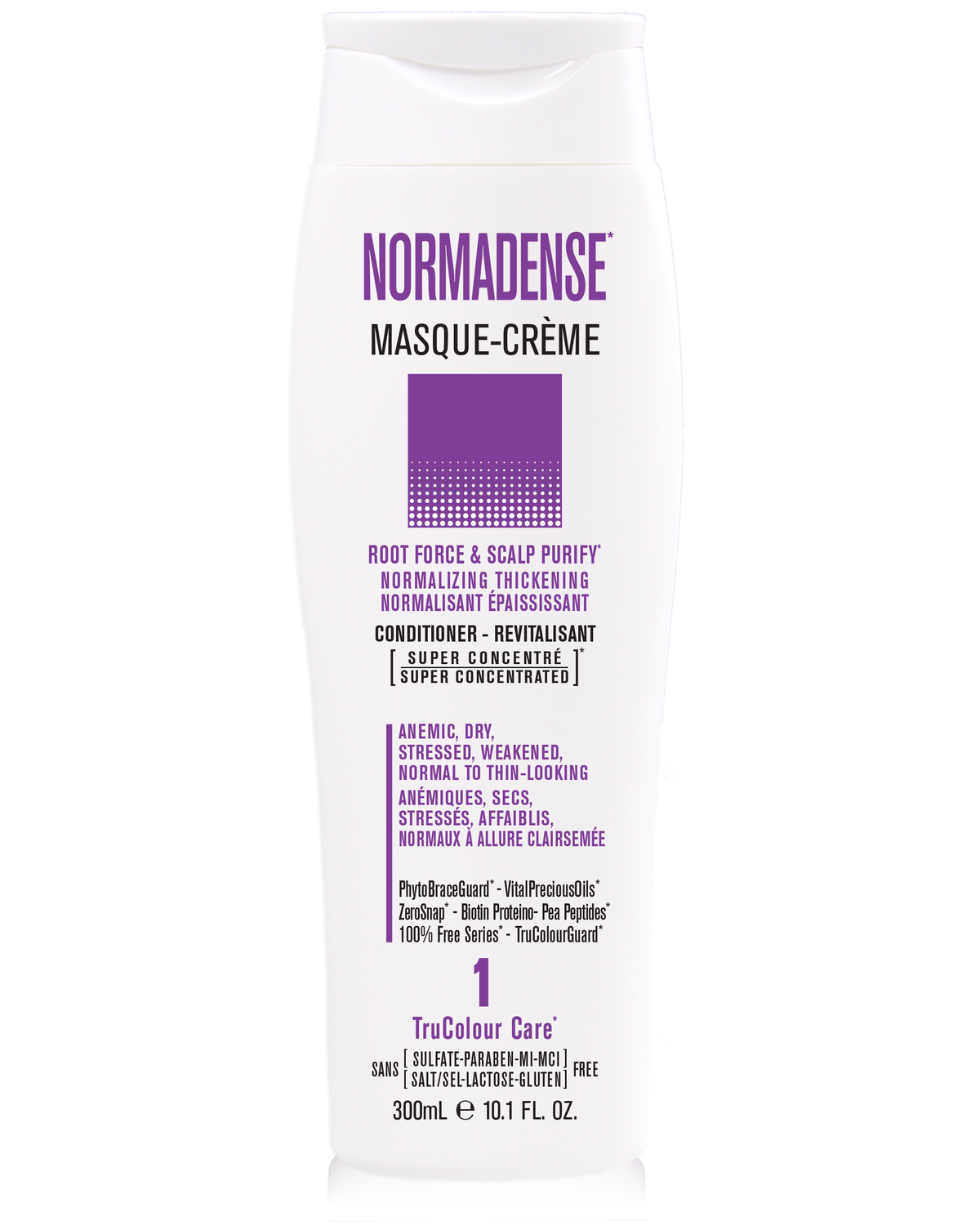 NORMADENSE 1 Scalp Purify Normalizing Thickening Masque-Creme (conditioner) - SNOBGIRLS Canada