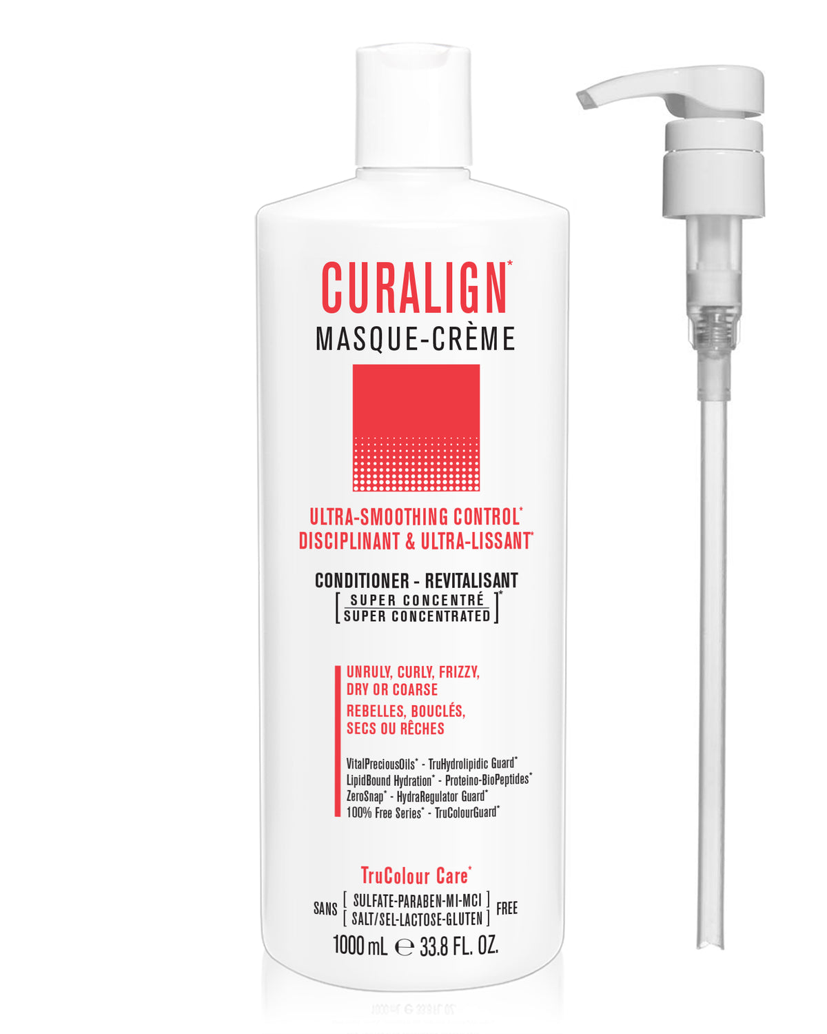 CURALIGN Ultra-Smoothing Control Masque-Creme (conditioner) - SNOBGIRLS Canada