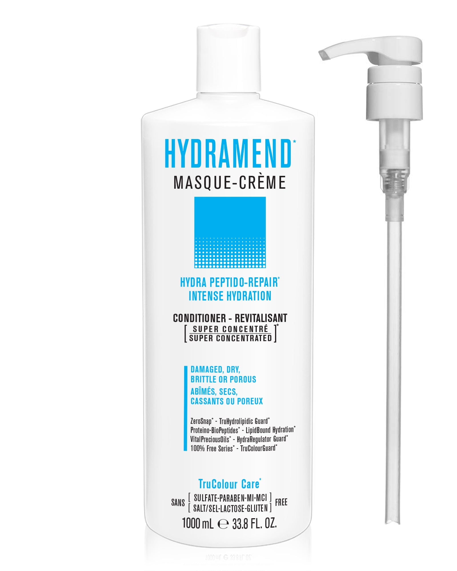 HYDRAMEND Intense Repair & Hydration Masque-Creme (conditioner) - SNOBGIRLS Canada