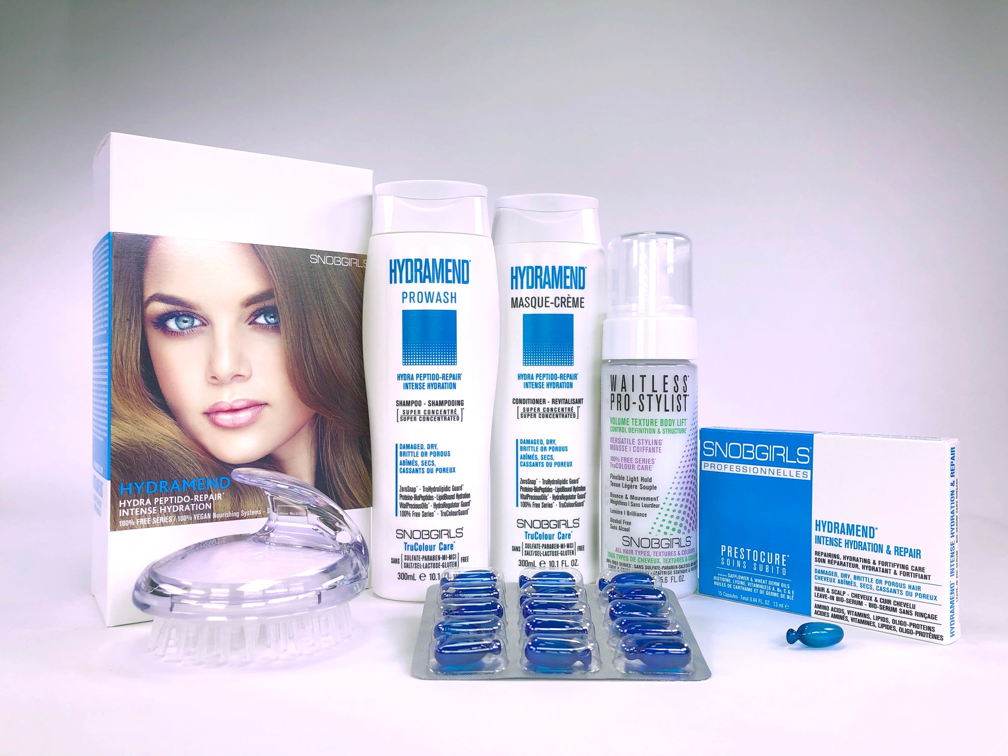 HYDRAMEND BOX HYDRA PEPTIDO-REPAIR  INTENSE HYDRATION Bundle - SNOBGIRLS Canada