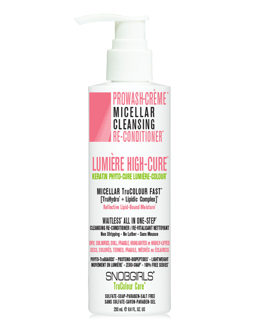 LUMIÈRE HIGH-CURE PROWASH-CRÈME MICELLAR CLEANSING RE-CONDITIONER*