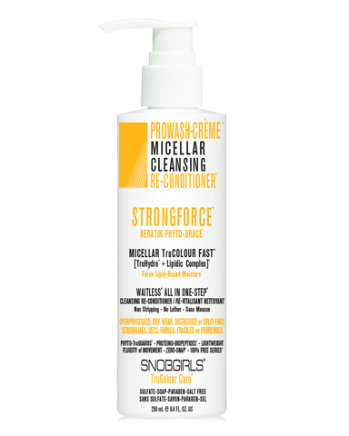 STRONGFORCE PROWASH-CRÈME MICELLAR CLEANSING RE-CONDITIONER*