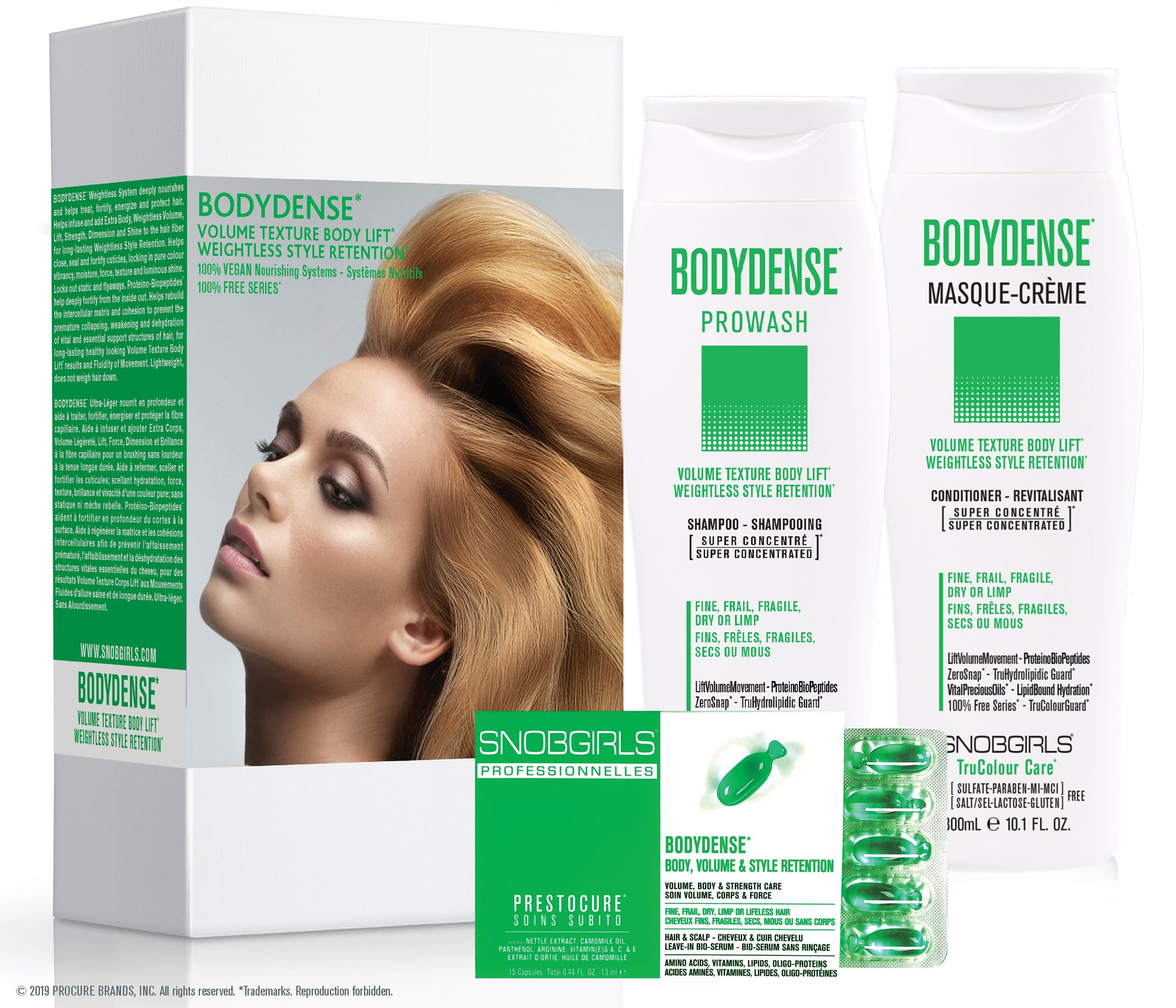 Trio BODYDENSE Volume Texture Body Lift Weightless Style Retention - SNOBGIRLS Canada