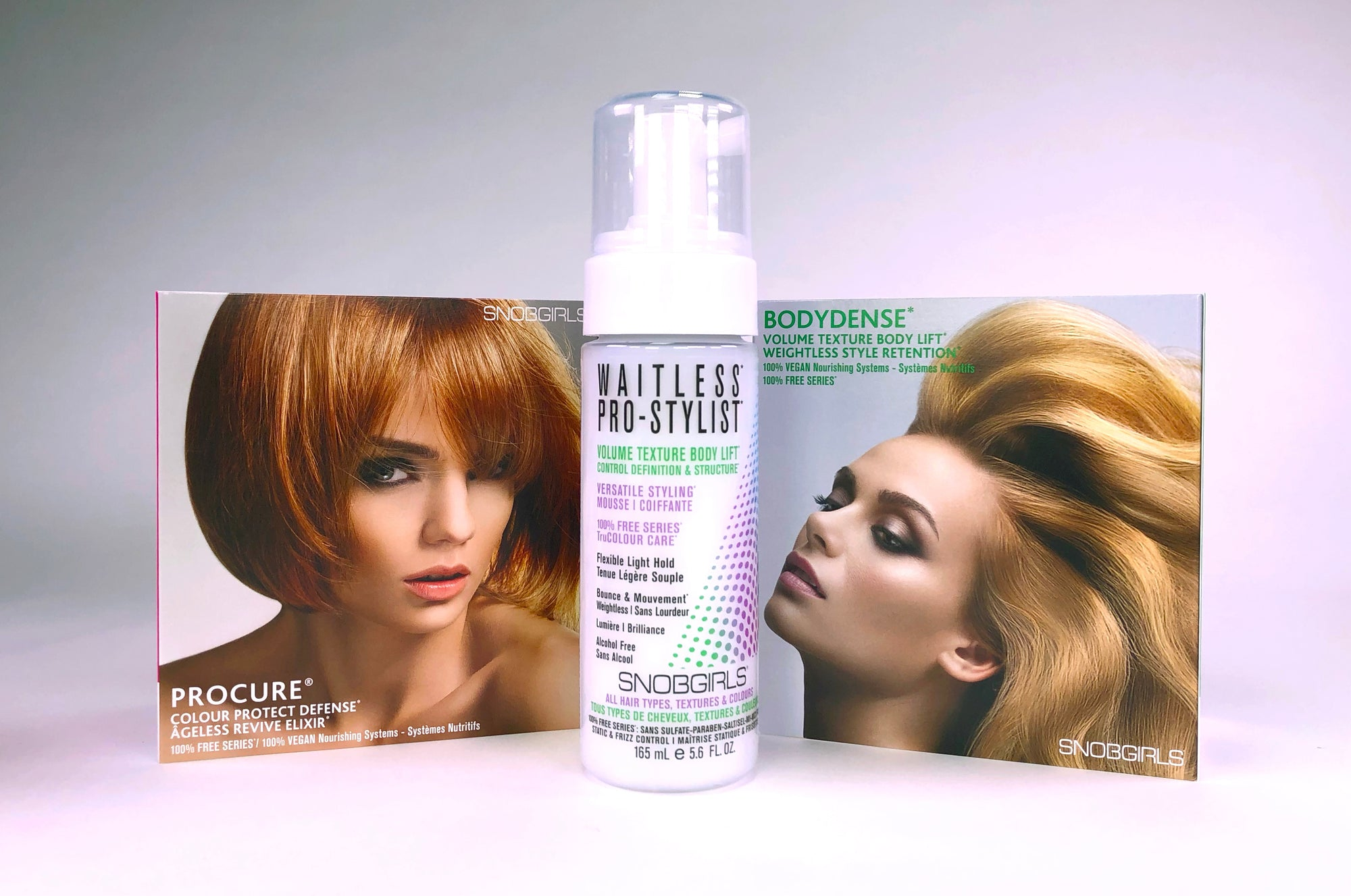 WAITLESS PRO-STYLIST STYLING MOUSSE - SNOBGIRLS Canada