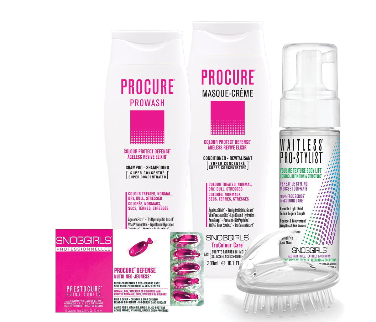 PROCURE BOX COLOUR PROTECT DEFENSE Bundle - SNOBGIRLS Canada