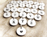Personalize Your Necklace with a Very Tiny Initial or Heart!