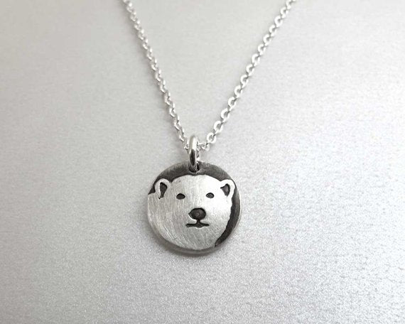 Tiny Polar Bear Necklace