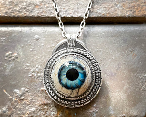Glass Eye Necklace