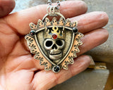 King Skully Necklace