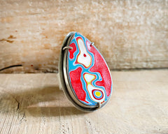 Adjustable Fordite Ring