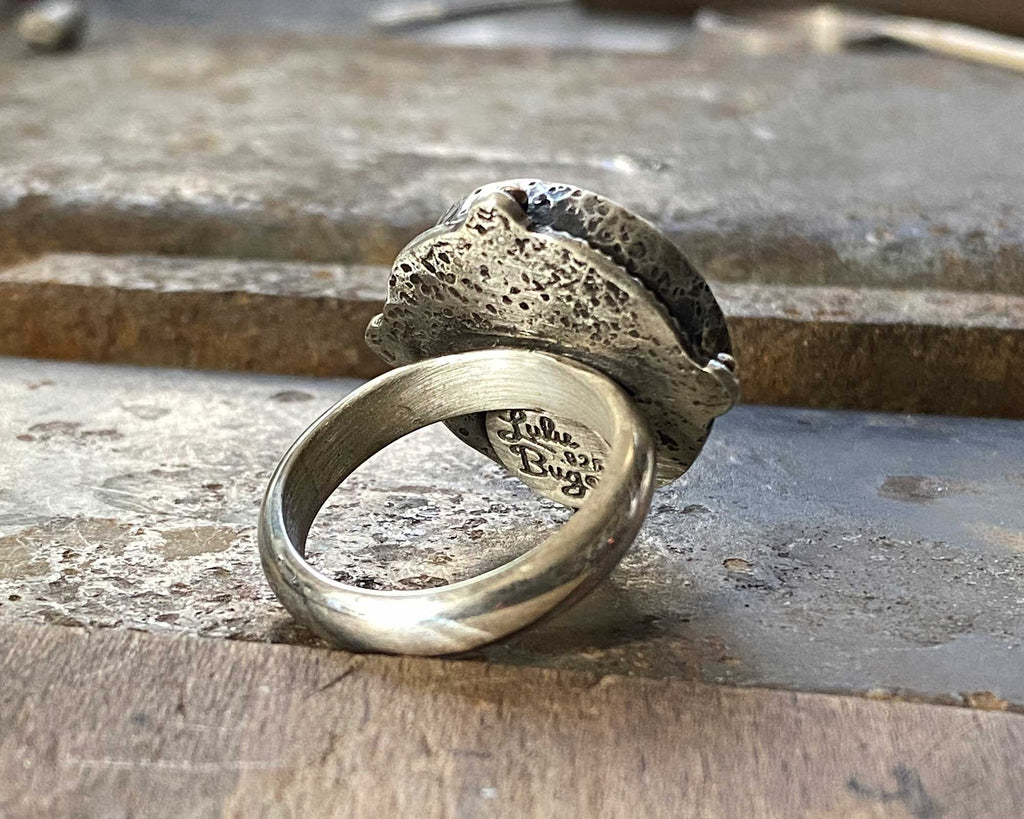 Anatomical Heart Ring - Made to Order