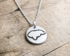 Tiny Honduras Necklace in Silver