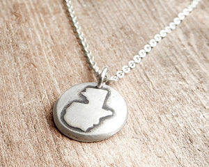 Tiny Guatemala Necklace in Silver