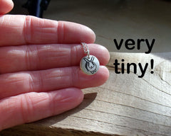Tiny  Bunny Rabbit Necklace