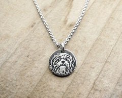Tiny Shih Tzu Necklace