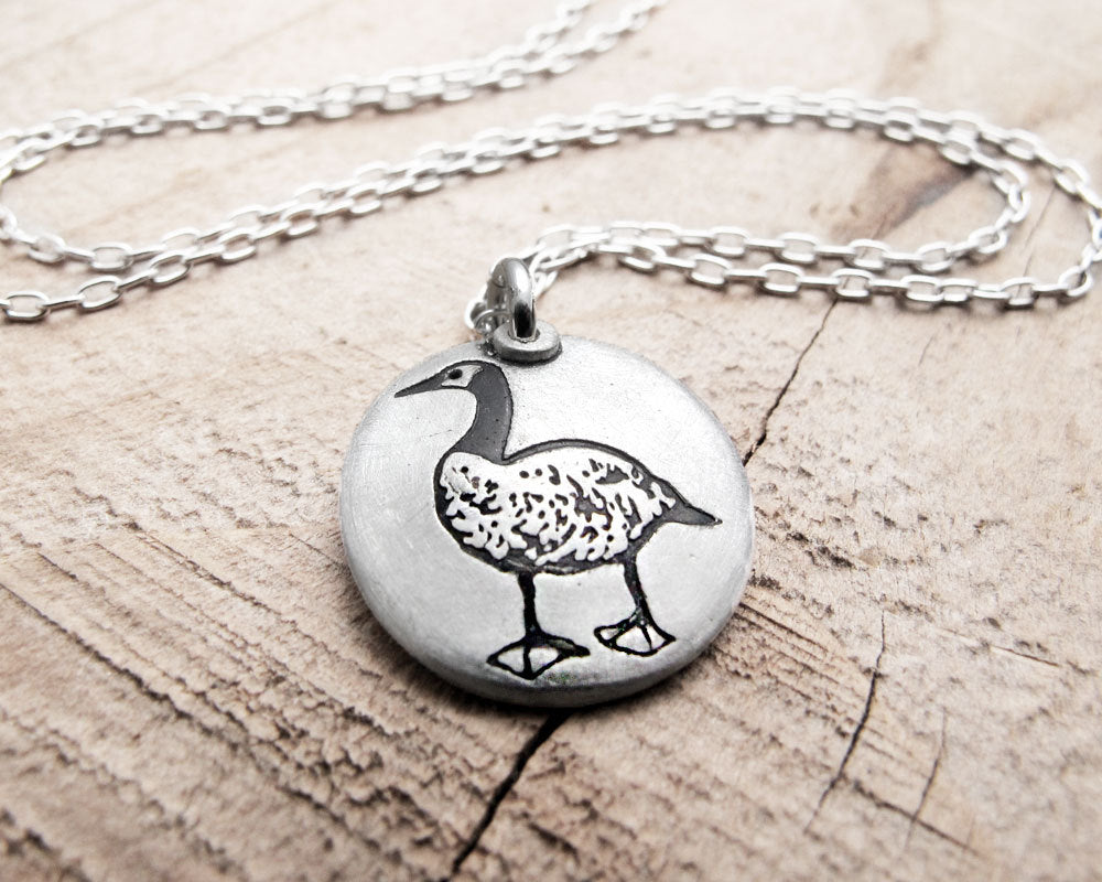Little Canada Goose Necklace