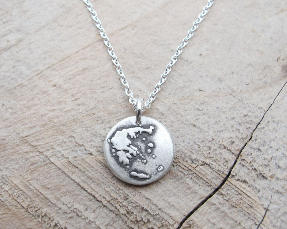 Tiny  Greece Necklace