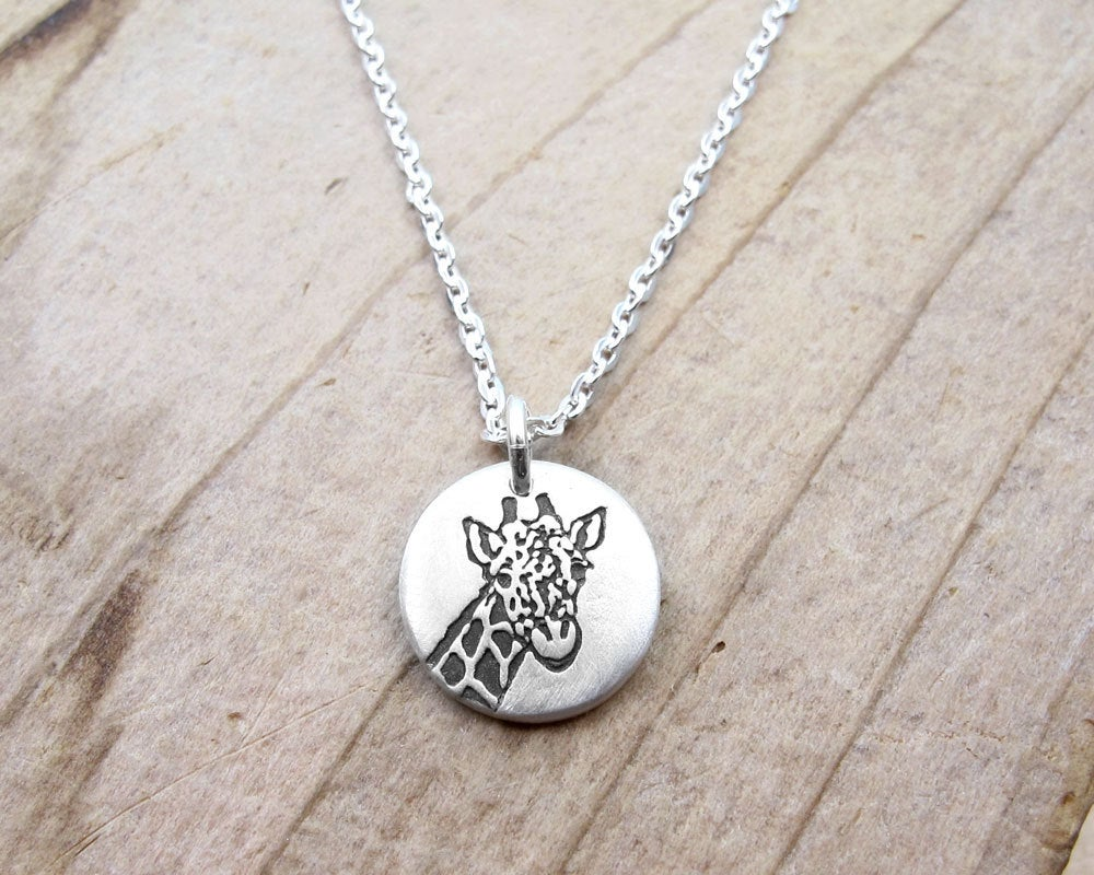 Tiny Giraffe Necklace