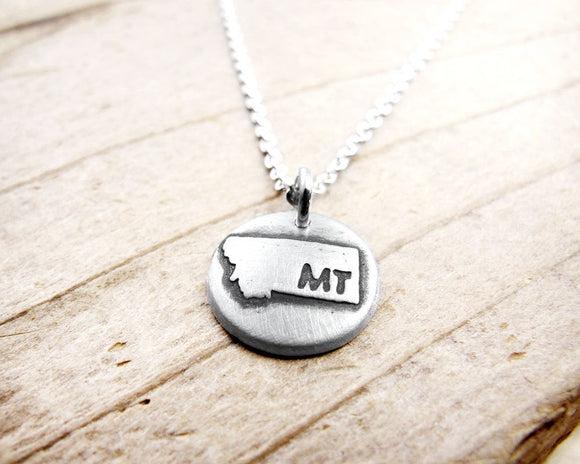 Tiny Montana Necklace in Silver