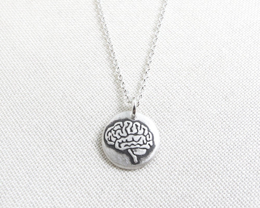 Tiny Brain Necklace