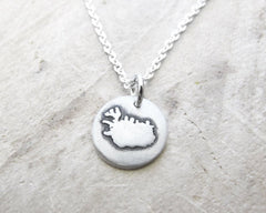 Tiny Iceland Necklace