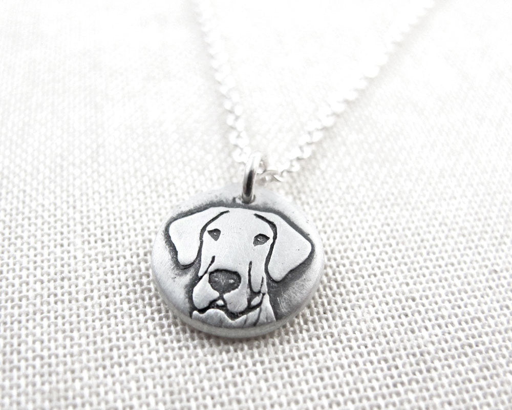 Tiny Great Dane Necklace