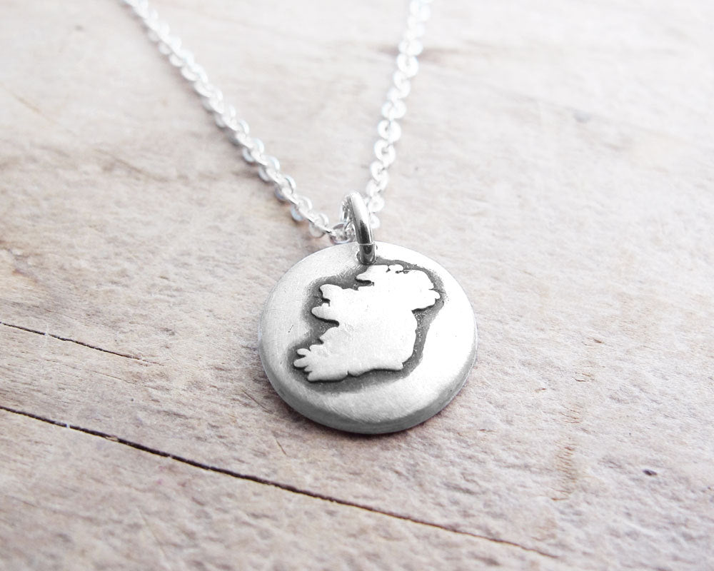Tiny Ireland Necklace