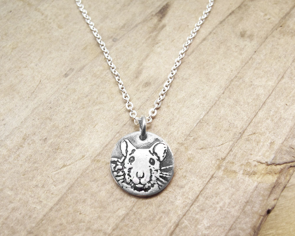 Tiny  Rat Necklace