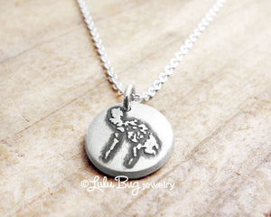 Tiny Map of the Philippines Necklace in Silver