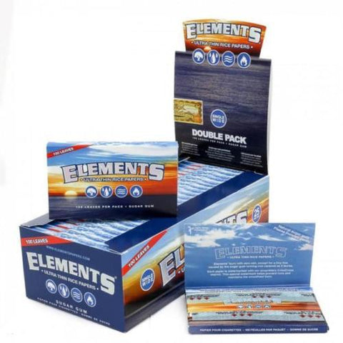 Elements single wide 1.0 rolling papers