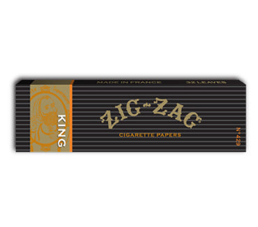 100mm King size Zig-Zag Rolling papers