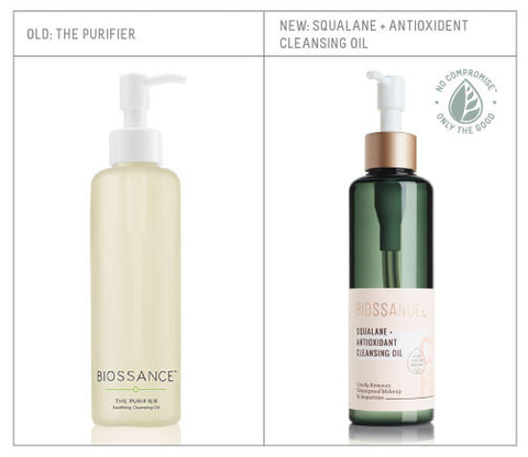 Redesigned Squalane + Antioxident Cleansing Oil