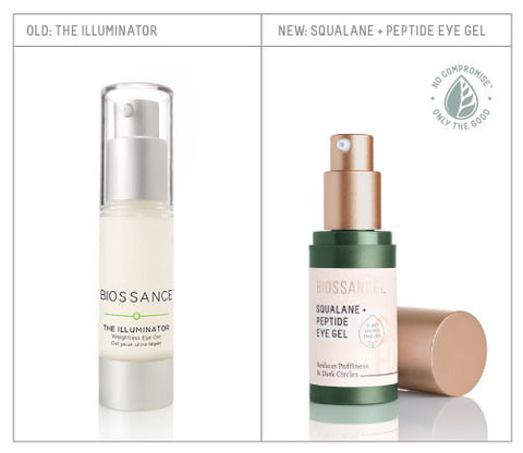 Redesigned Squalane + Peptide Eye Gel