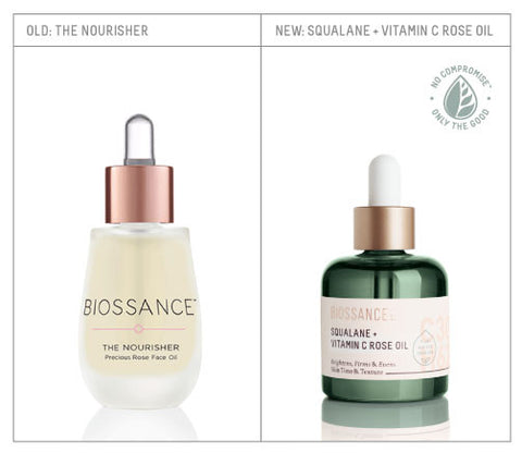 Redesigned Squalane + Vitamin C Rose Oil