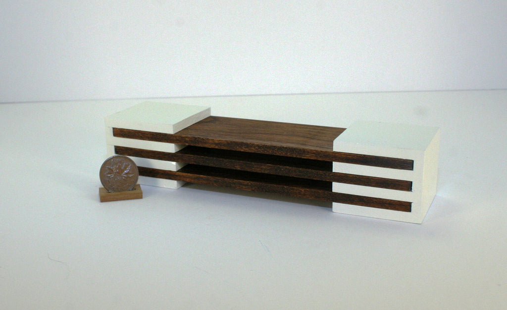 Modern Slot Coffee Table