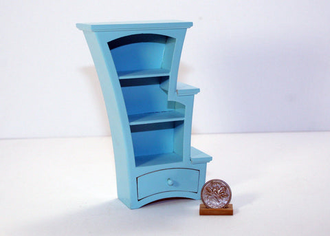 Stepped Leman Bookcase