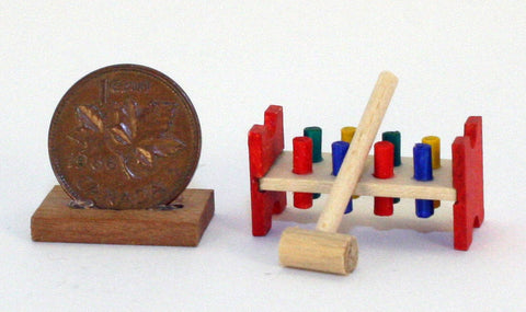 Hammer and Peg Set