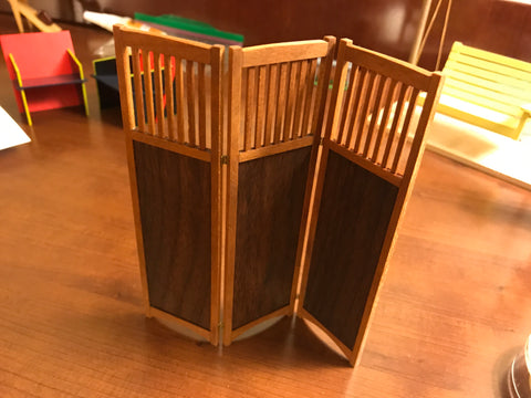 Arts and Crafts Room Divider Screen