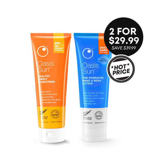 Hot Price Oasis Sun SPF30 250ml  + The Hydrator 250ml -